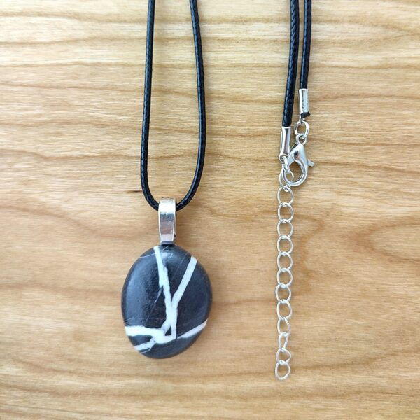 prayer pebble with necklace cord